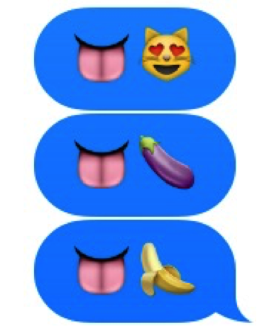 Oral sex messages