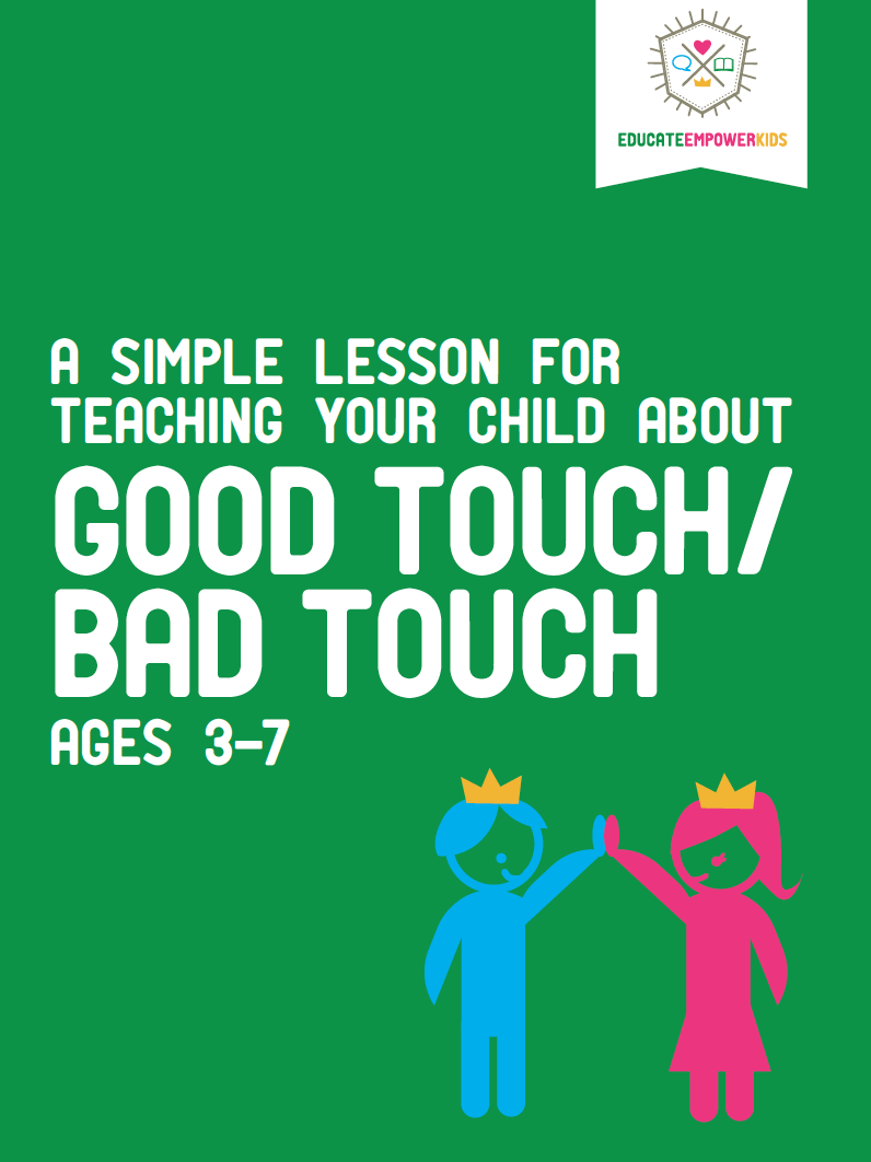 A Lesson About Good Touch/Bad Touch