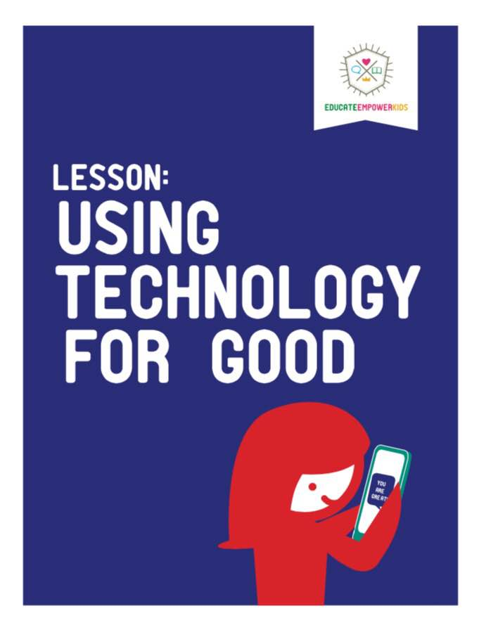 A Lesson About Using Technology for Good