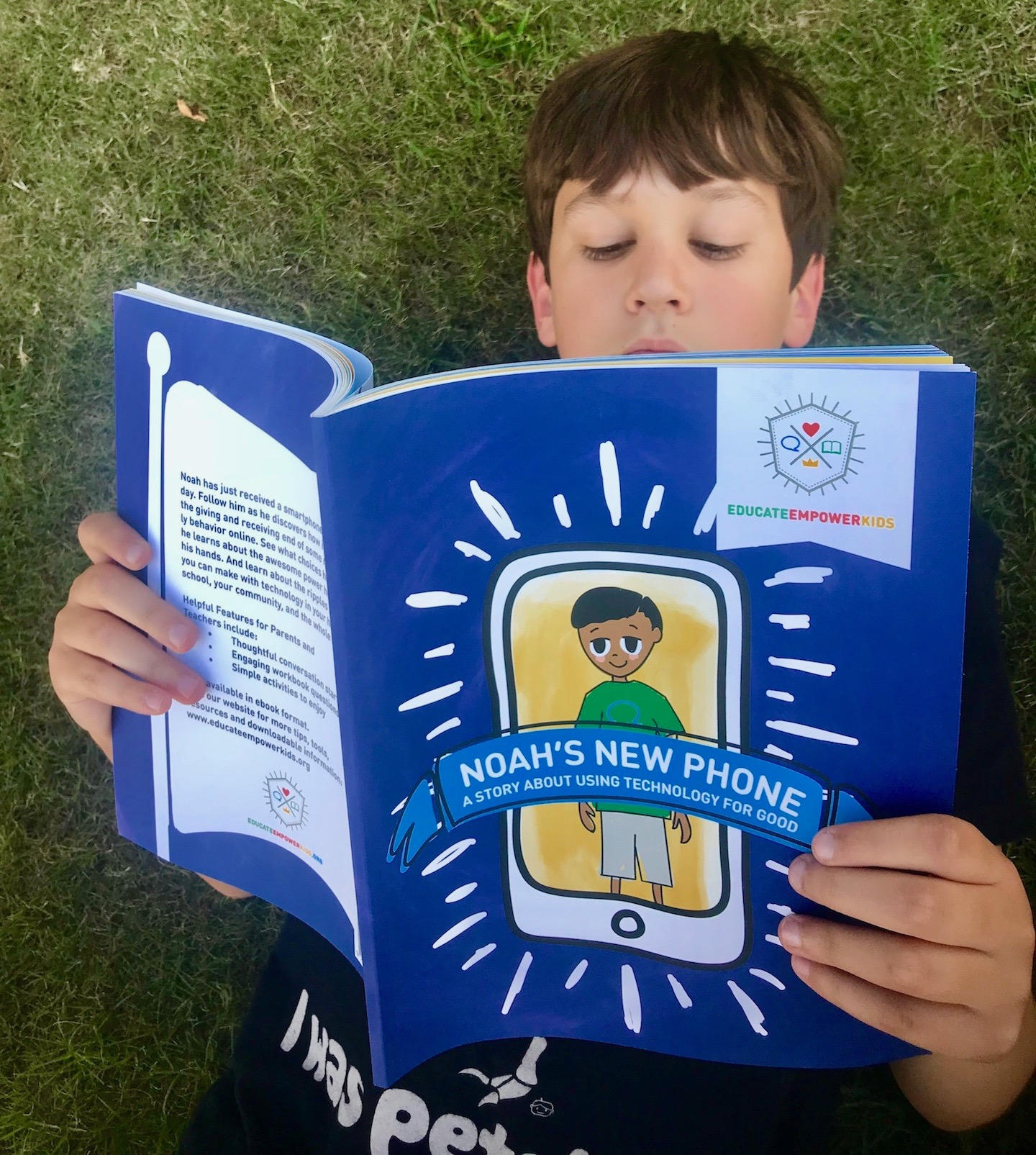 Noah's New Phone: New Book Teaches Kids to Use Technology for Good