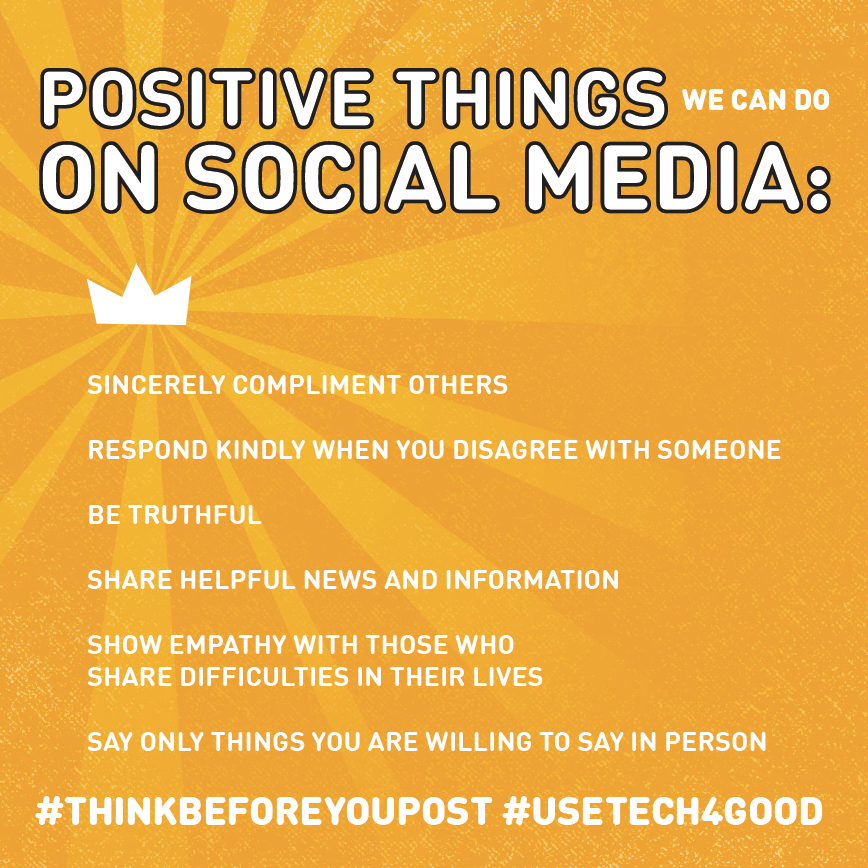 Positive Things We Can Teach Our Kids to Do on Social Media